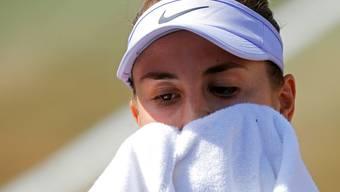 Belinda Bencic übt nach ihrem Wimbledon-Aus Selbstkritik