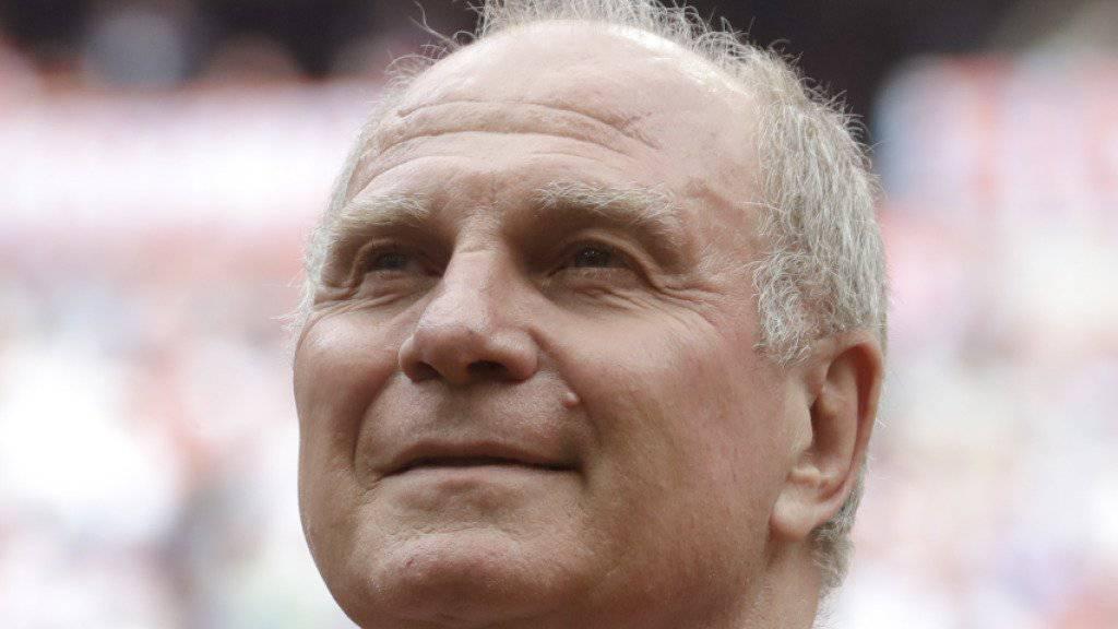Uli Hoeness wünscht sich, dass Jupp Heynckes über diese Saison hinaus Trainer des FC Bayern bleibt