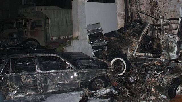 Bild der Zerstörung nach dem Anschlag vom Montagabend