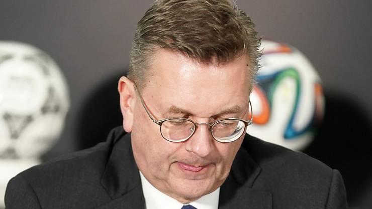 Reinhard Grindel tritt zurück - kein DFB-Präsident vor ihm hielt sich weniger lang im Amt