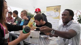 U17-Weltmeister Kofi Nimeley spielt künftig für die Black Stars.