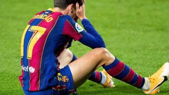 Trincao kam mit Barcelona zum Jahresende nur zu einem Remis