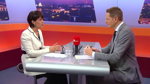 TalkTäglich mit Bundesrätin Doris Leuthard: Thema Gewerbe