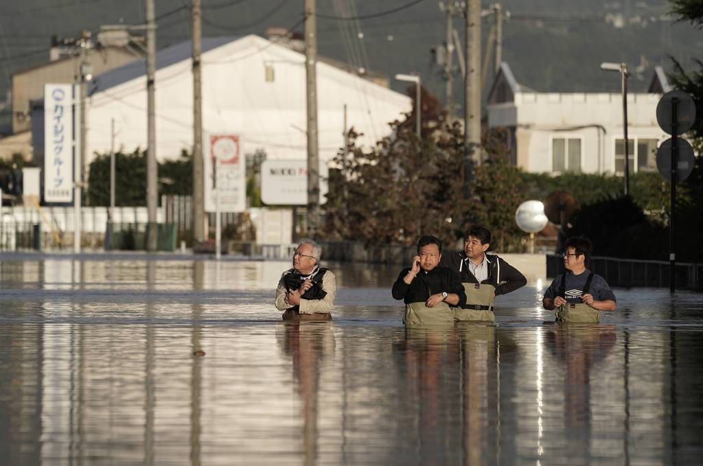 Taifun Hagibis Japan (© Keystone/KIMIMASA MAYAMA)