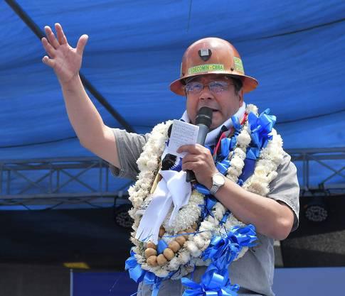 Wenig charismatisch, dafür bislang wirtschaftlich erfolgreich: Boliviens neuer Präsident Luis Arce.