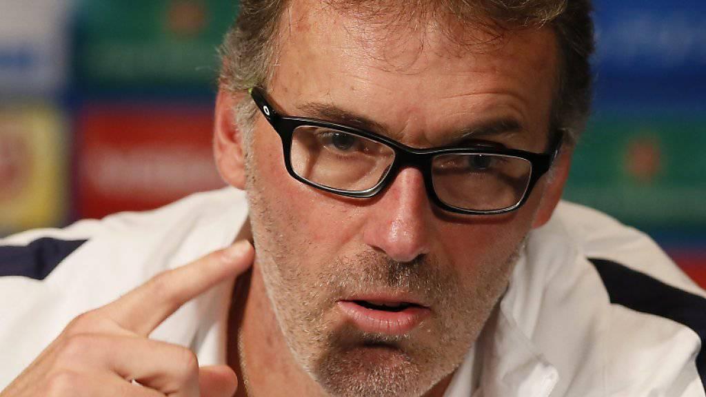 Laurent Blanc will den Fokus nach den Attentaten in Paris auf den Fussball legen