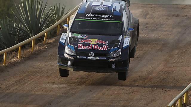 Sébastien Ogier liess in Mexiko die Konkurrenz erneut hinter sich