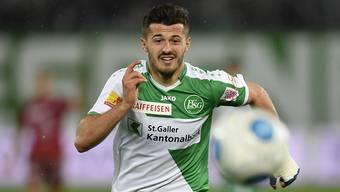 Albian Ajeti wechselt von St. Gallen zurück zum FCB.
