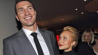 """Hatten eine """"tolle Zeit"""" zusammen: Wladimir Klitschko und Hayden Panettiere (Archiv)"""