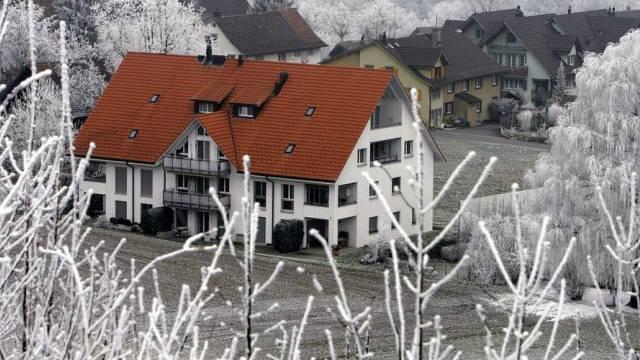 Das Haus in Horgen, in dem die Kinder getötet wurden (Archiv)