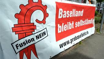 Nein zur Kantonsfusion – Ja zur verstärkten Zusammenarbeit: Der einstige Slogan der Fusionsgegner wurde mit der gestrigen Abstimmung im Baselbiet in den Verfassungsrang erhoben.
