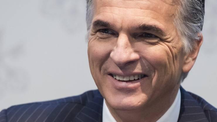 14,3 Millionen Franken Bezüge: UBS-Chef Sergio Ermotti. (Archiv)