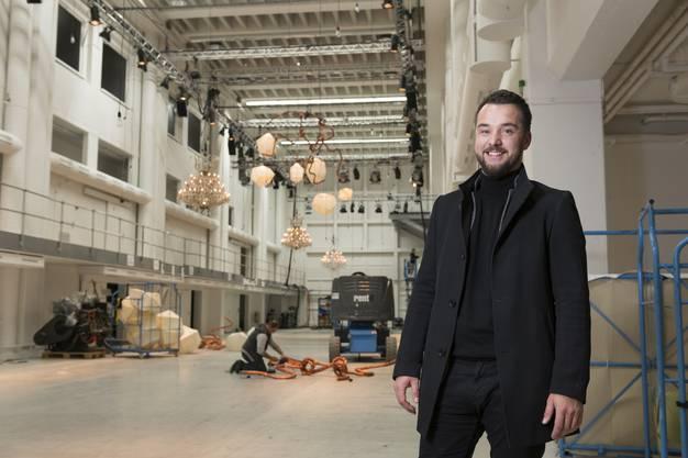 Er ist Geschäftsführer des Catering-Unternehmens Shine&dine mit Sitz in Urdorf