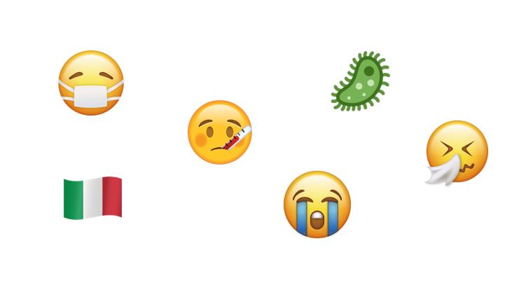 populäre Emojis zu Coronazeiten
