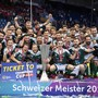 Die Spieler von Wiler-Ersigen jubeln im letzten Frühjahr nach ihrem Sieg im Superfinal gegen die Grasshoppers