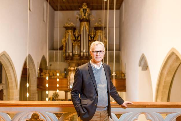 """Er spricht von einem kommunikativen """"Totalversagen"""" der Reformierten Kirche Schweiz: Christoph Weber-Berg von der Aargauer Kantonalkirche."""