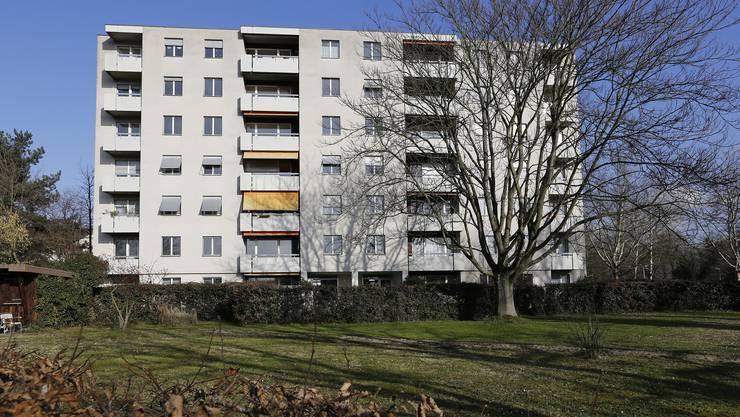 Das Wohnhaus an der Wittlingerstrasse 130 in Basel.