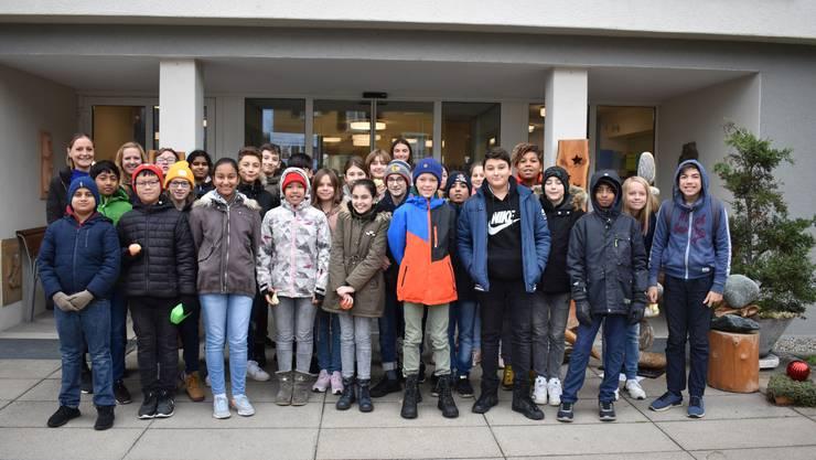Die Kinder der Klassen 6l und 6k waren im marienheim Wangen zu Besuch.
