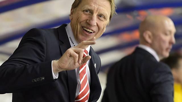Glen Hanlon ist zufrieden: Seine Auswahl bezwingt Russland