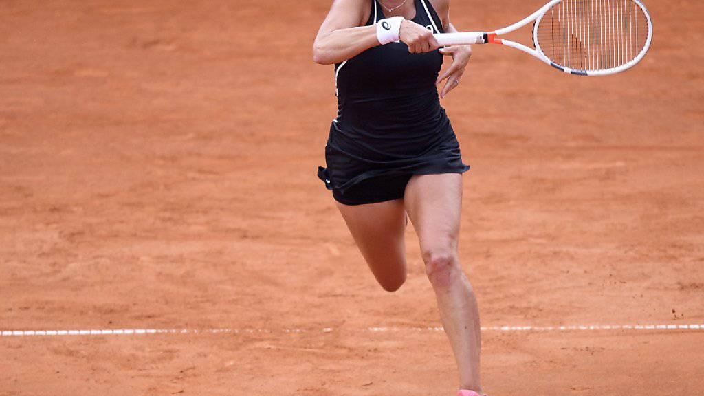 Timea Bacsinszky findet im ITF Turnier in Biarritz in Form