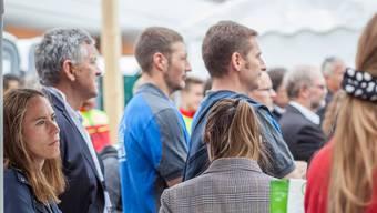 Eröffnung der Wyna Expo in Reinach am 2. Mai 2019