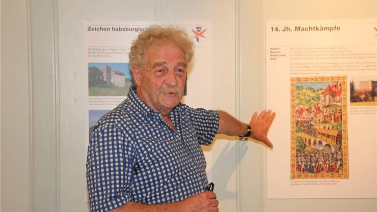 Der Kunsthistoriker und Ausstellungsmacher Hans Ruedi Weber ist in Menziken aufgewachsen und lebt heute in Beromünster.