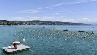 29. Traditionelle Stadtzürcher Seeüberquerung