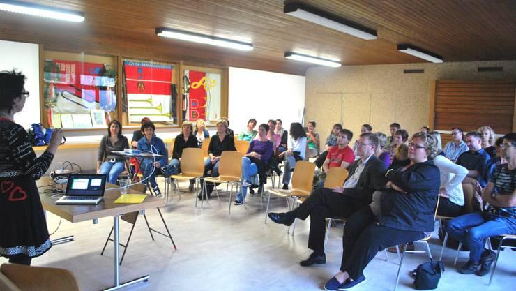Workshop Mobbing mit gut 30 Interessierten