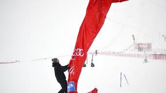 Wegen des schlechten Wetters musste der Start zum Weltcup-Slalom in Yuzawa Naeba verschoben werden (Archivbild)