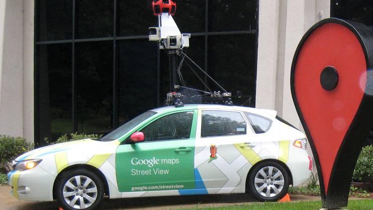 Bitte lächeln, wenn Sie dieses Auto sehen: Google-Street-View-Auto