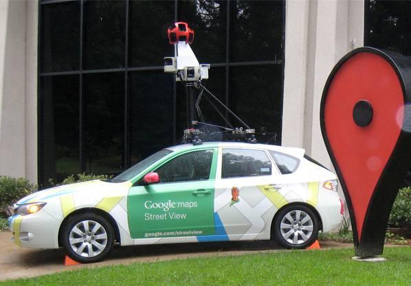 Das Google-Street-View-Auto. ZVG