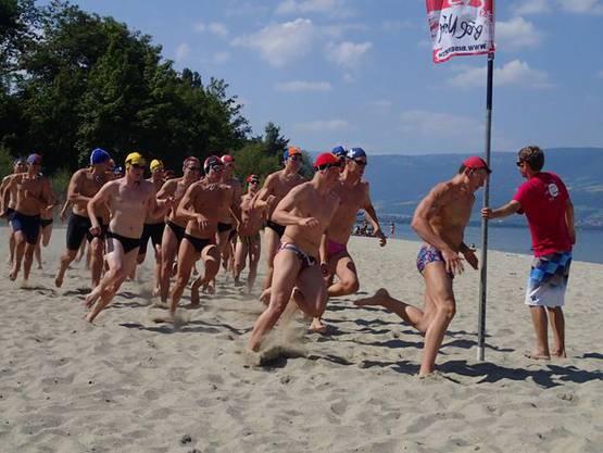 Start Run-Swim-Run Herren.