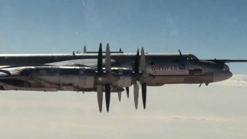 Zwei russische TU-95-Kampfflugzeuge haben am Donnerstag den Luftraum von Japan verletzt. (Archivbild)