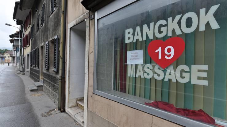 Dieser Salon in Balsthal gehörte zu den Etablissements, die im Rahmen der Ermittlungen geschlossen worden sind.