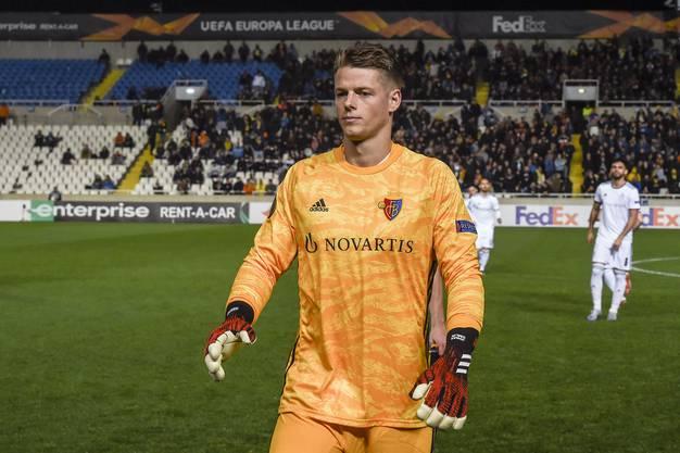 Jonas Omlin ist fraglich für das Rückspiel gegen Nikosia.