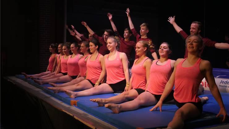 Die Showgruppe Sulz ist Teil von «Follow our Passion». Die Show ist an zwei Abenden in der Turnfest-Arena zu sehen.ZVG