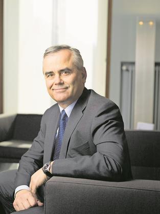 Will er an die CS-Spitze? Schweiz-Chef Thomas Gottstein