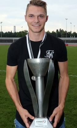 Muttenz-Topskorer Manuel Alessio: Er wurde mit 36 Treffern Torschützenkönig.