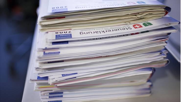150000 Steuererklärungen werden bei RR Donnelley eingescannt.