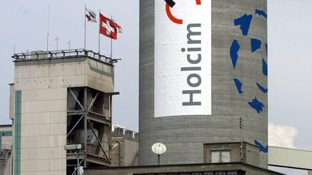 Zementkonzern Holcim schreibt wieder schwarze Zahlen (Archiv)