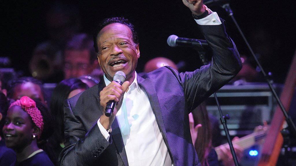 Edwin Hawkins am 10. Juni 2014 bei einem Auftritt im Apollo Theater in New York.