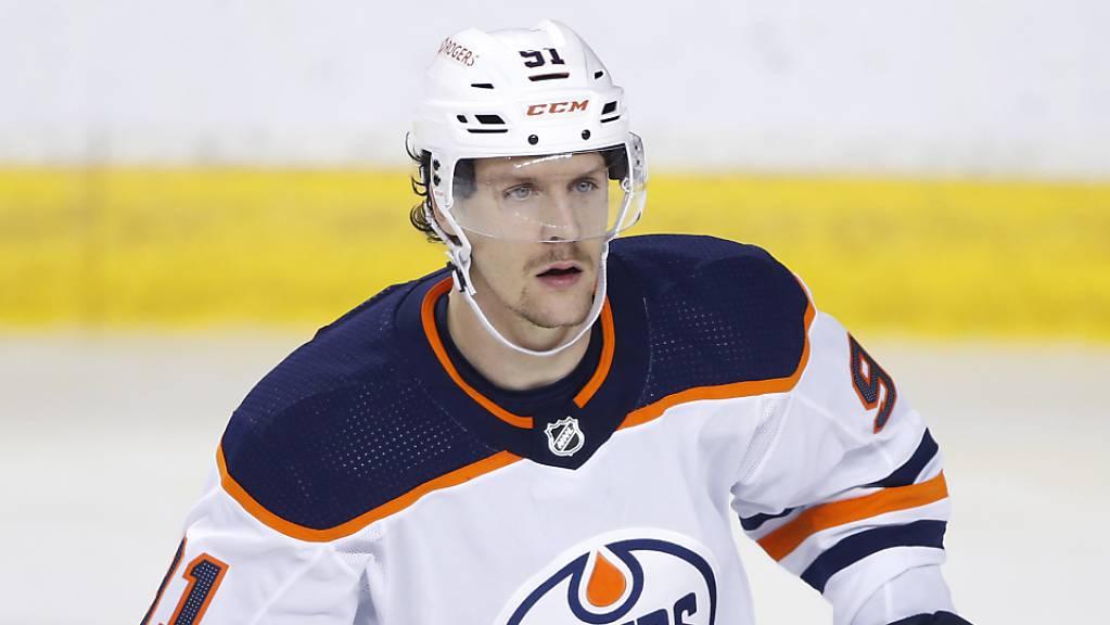 In 95 NHL-Spielen mit den Edmonton Oilers realisierte Gaëtan Haas 7 Tore und 6 Assists.