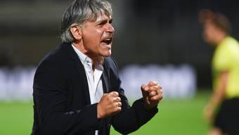 Trainer Maurizio Jacobacci ist mit Lugano seit 13 Partien ungeschlagen.