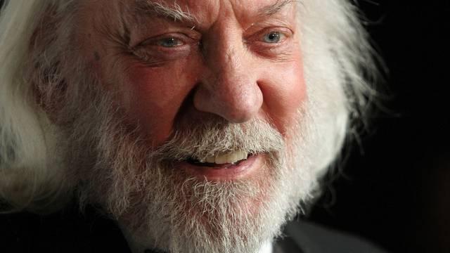 """Schauspieler Donald Sutherland schaffte mit """"Wenn die Gondeln Trauer tragen"""" den internationalen Durchbruch (Archiv)"""