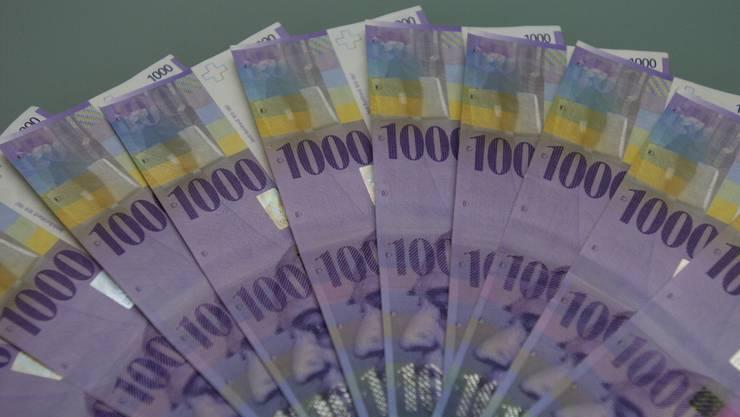 Die Nationalbank schüttet dieses Jahr 1 Milliarde Franken an Bund und Kantone aus. (Symbolbild)