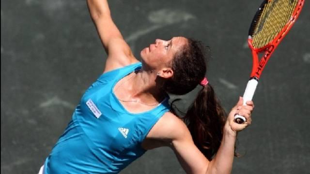 Patty Schnyder hatte gegen die Dänin Wozniacki erneut das Nachsehen