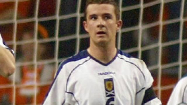 Suspendiert: Schottlands Captain Barry Ferguson