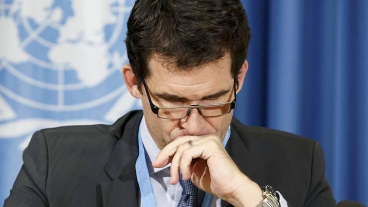 Der Uno-Sonderbeauftragte für Folter, der Schweizer Nils Melzer, bewarb sich als Uno-Kommissar für Menschenrechte. (Archivbild)