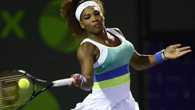 Serena Williams ist im Final favorisiert