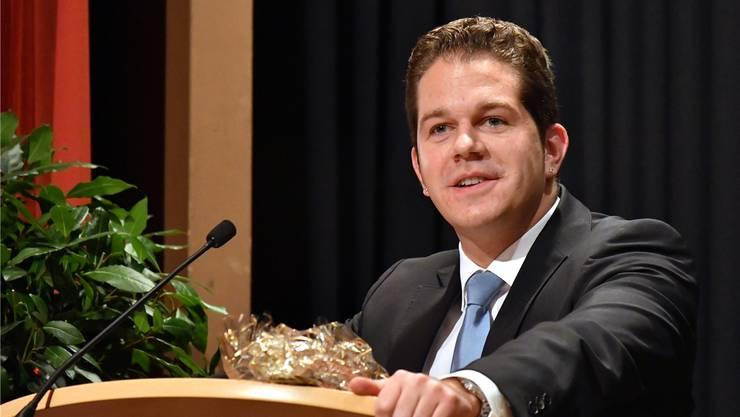 Christian Werner spielt die Karte als Einzelunternehmer und Gewerbepolitiker.